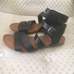 Franco Sarto gladiator sandals sz 9.5
